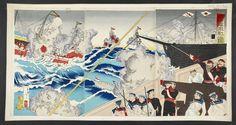 sino-japanese war prints