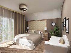 Интерьер комната для гостей в бежевых тонах. Дом 3д – купить в интернет-магазине на Ярмарке Мастеров с доставкой - CW63DRU