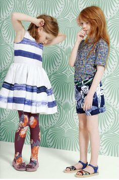 "Quinoa had only two words for Chevron's dress and tights combination: ""Um, no."" #MIWDTD"