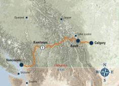 Rocky Mountaineer Train Ride... 2 Day Rail, Vancouver to Calgary (or reverse) - 2014 (2 Days, 1 Night)