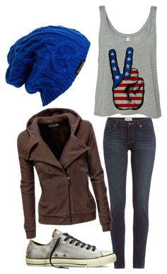 """""""Untitled #211"""" by boyoutfall ❤ liked on Polyvore featuring Paige Denim, Converse, Spacecraft, women's clothing, women's fashion, women, female, woman, misses and juniors"""