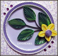 i think i shud pin all her quilled art!!