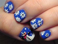 Easy Christmas Nail Art Designs & Ideas 2013/ 2014   X mas Nails   Fabulous Nail Art Designs