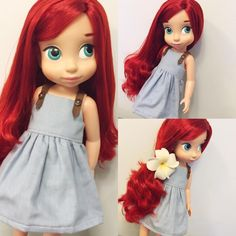 Doll Dress / Disney Animator Doll Ariel