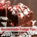 Grandma's Million Dollar Fudge and Speedy White Fudge - Save Money And Get Out Of Debt - Living on a Dime