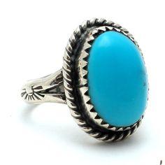 Little Bear Vintage Native American Ring