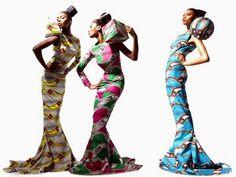 robes en pagne