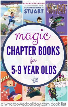 Magic Early Chapter Books For Kids Ages 5-9 from @momandkiddo