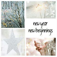 Happy New Year, 2014 here we come! #Moodboard #mosaic #collage