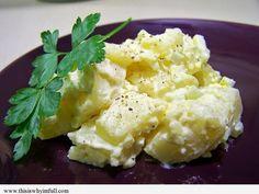 Perfect Potato Salad - http://www.thisiswhyimfull.com/appetizer/perfect-potato-salad