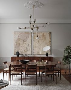 Tour a Classic and Luxurious Stockholm Apartment – Nordic Design – Lighting – Magazine Dining Room Inspiration, Interior Design Inspiration, Interior Design Blogs, Scandinavian Interior, Scandinavian Style, Interior Design Living Room, Interior Decorating, Home Design Decor, Decorating Blogs