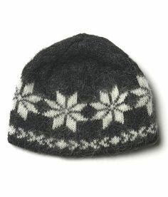 Brushed Wool Hat Black - Wool Accessories - Shop Icelandic Products Wool  Socks f016c2a03f0b