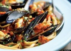 Italian Christmas: Feast Of The Seven Fishes Recipes. There are some GREAT recipes in here that can easily be modified for Paleo, and some are Paleo without even trying. Be sure to click through them all.