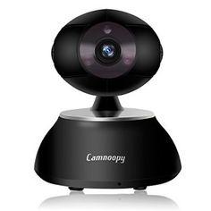 Camnoopy HD 720P CamšŠra IP, WiFi sans fil IP CamšŠra, babyphone, camšŠra de sšŠcuritšŠ š€ domicile avec deux haut-parleurs, Audio 2 Voies,…