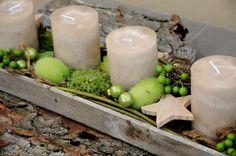 I like! Adventsobjekt für den Tisch!