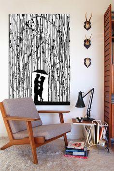 Film Noir by Marc Allante Canvas Print on HauteLook