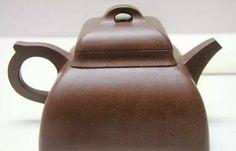 (明)李仲芳 觚棱壶 「(李)仲芳」刻款-明,万历 高7.2厘米,阔9.2厘米
