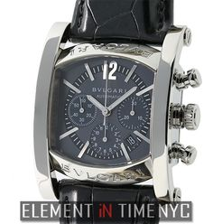 Bvlgari Assiamo 35mm Chronograph Stainless Steel Blue Dial Reference    AA44SCH ( 2 342e2a9a90c