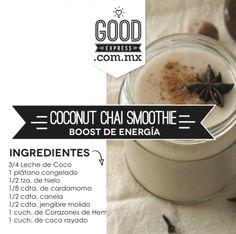 Coconut Chai Smoothie