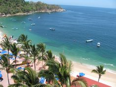 View of beach from Barcelo Puerto Vallarta