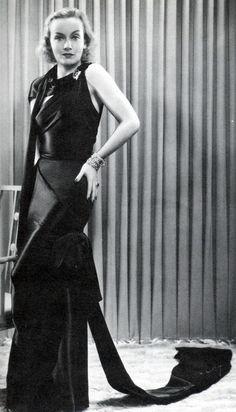 Carole Lombard, Love Before Breakfast, 1936 (gown by Travis Banton)