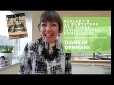 Diann in Denmark Flylady's 31 Babysteps - Day 3 (sticky notes and reminders) Italian Language, Korean Language, Japanese Language, French Language, Flylady Zones, Daily Schedule Template, Note Reminder, Clutter Control, Spanish Language Learning