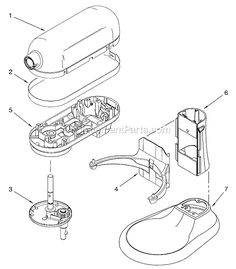 Diagrams for KitchenAid products