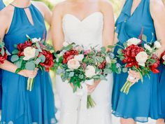Warm toned fall bouquets | http://adrianamarieevents.com
