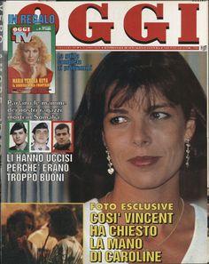 1993, si parla di una proposta di matrimonio di Vincent a Caroline (Oggi)