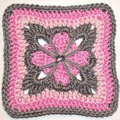 Cute Grannie Square Free Pattern
