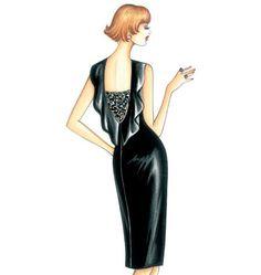 F3447, Marfy Dress- Ideas...