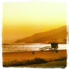 Pacific Palisades Beach in Pacific Palisades, CA where Tina Chow spent her last days watching whales jumping in the ocean...