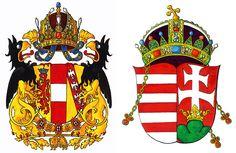 Австрийский Императорский Дом (Габсбурги-Лотарингские) и Венгрия. Художник: Михаил Медведев