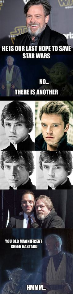 Imagine the possibilities. (Old post) Sebastian Stan