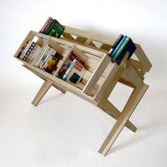 Indra Designer bücherregal design OSB Platten Bradley Bowers | Ideen ...