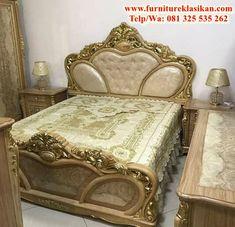 contoh desain 1 tempat tidur ukir gold mewah, spesifikasi 1 set kamar tidur ukir duco classic modern, referensi set kamar tidur ukir eropa, trend tempat tidur jepara, ahli produksi tempat tidur berbagai model mulai ukir sampai minimalisan sesuai desain model masa kini
