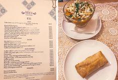 Porto Empfehlungen für landestypische Restaurants und Essen von der Travelbloggerin Joana - Porto Food Tipps Restaurants Best local food portuguese Travel Diary Small Cake, Spinach, Restaurants, Appetizers, Menu, Soup, Bread, Plates, Porto