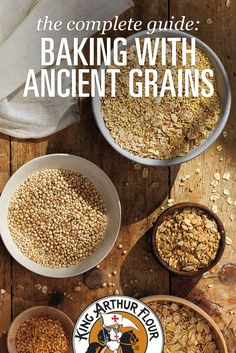 The complete guide: Baking with Ancient Grains