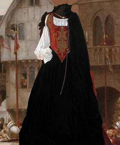 Bodice, Skirt, Skirt, Chemise, Cloak and Hoop Renaissance Wedding, Renaissance Costume, Renaissance Clothing, Renaissance Pirate, Medieval Fashion, Renaissance Fair, Steampunk Fashion, Red Costume, Costume Dress
