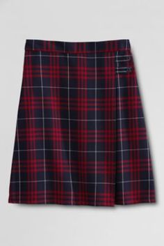 School Uniform Plaid A-line Skirt from Lands' End
