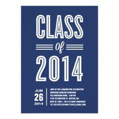 So Retro | Graduation Party Invitation