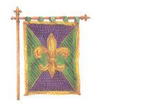 Coat of Arms Invitation from Odd Balls Invitations