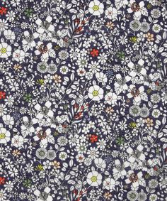 June's Meadow A Portsea Place Voile, Liberty Art Fabrics.