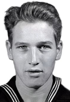 Paul Newman's Navy photo.