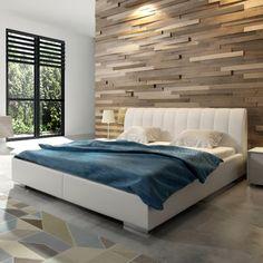 Cikkszám: NATALIA-FH-180 A NATALIA kárpitozott ágy kiváló minőségű anyagokból készült, ezáltal biztosított, hogy hosszú éveken át gyönyörködhetsz majd pazar megjelenésében. Rendkívül kényelemes, több méretben és színben rendelhető. Dobja fel hálószobáját és teremtsen stílusos és kényelmes környezetet!
