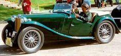 1947 mg tc roadster green - Google Search