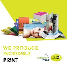 The Team at Pax Printers delivers innovative marketing material. We create and print marketing materials that stand out and produce the best results for our clients. #Flyers #Brochures #Foiling
