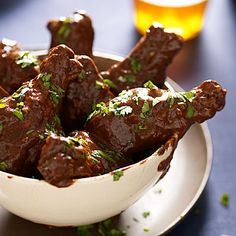 Chocolate BBQ chicken wings! Creativity and how to ignite it!