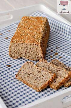 Domowa cookierenka Agi: Najłatwiejszy chleb bezglutenowy