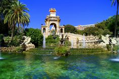 The Parc de la Ciutadella is a park on the northeastern edge of Ciutat Vella. For decades following its creation in the mid 19th century, this park was the city's only green space.